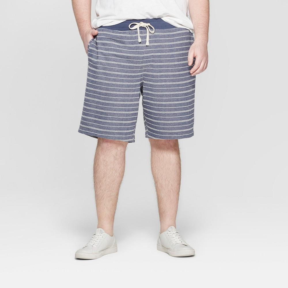Men's Tall 11 Regular Fit Lounge Shorts - Goodfellow & Co Geneva Blue LT