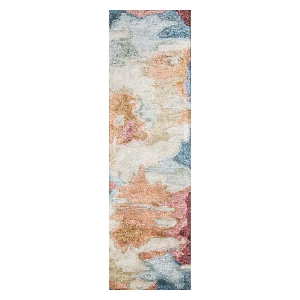 2'3X8' Splatter Tufted Runner - Momeni, Multicolored