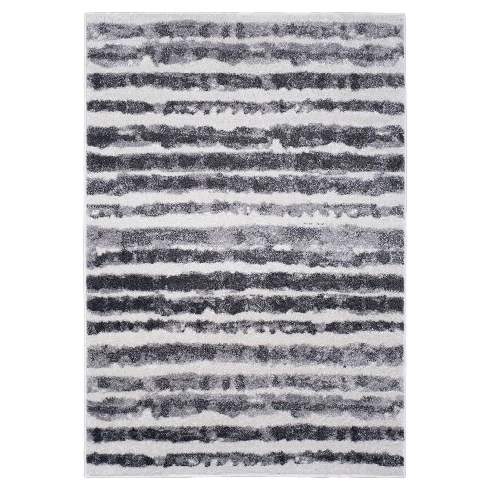 Adirondack Rug - Ivory/Charcoal - (4'x6') - Safavieh, White