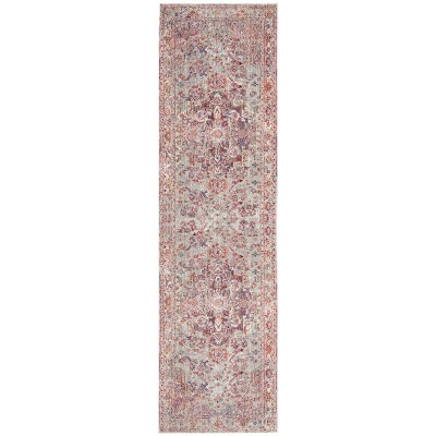 2'3 X4' Loomed Medallion Accent Rug Ivory/Red - Safavieh