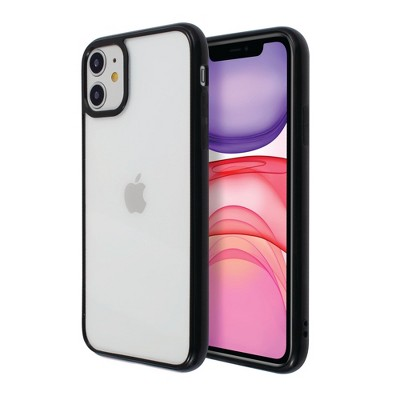 Insten Crystal Clear Case Hard Back with TPU Bumper Ultra Thin Slim Shell Protective Cover Compatible with Apple iPhone