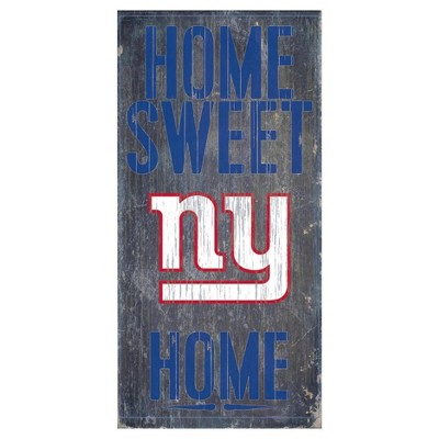 NFL Fan Creations Sweet Home Sign