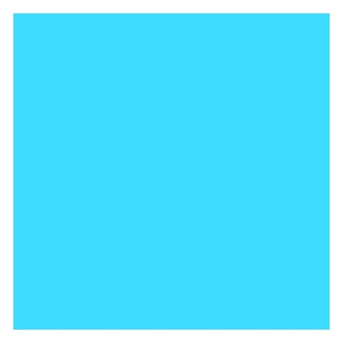 ArtKraft Duo-Finish Paper Roll, 50 lb, 36 Inches x 1000 Feet, Brite Blue - image 1 of 1