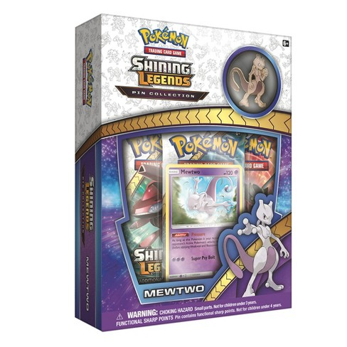 Pokemon Shining Legends Pin Collection Mewtwo - image 1 of 2