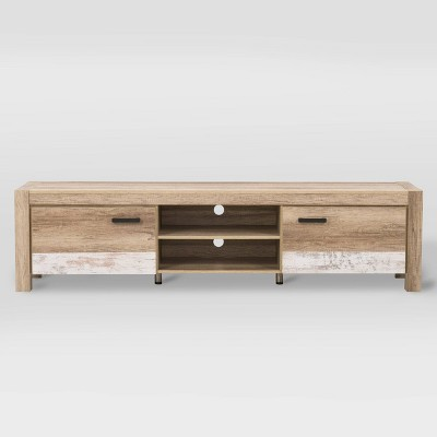 """Joliet Duotone TV Bench for TVs up to 90"""" - CorLiving"""