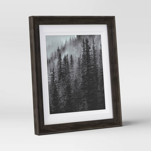 """8"""" x 10"""" Double Matted Table Frame Dark Brown - Threshold™ - image 1 of 4"""