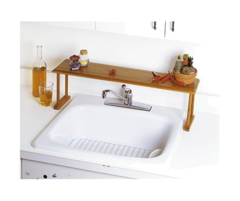 Lipper International Bamboo Over45the45sink Shelf Target