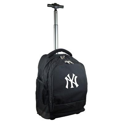 MLB Premium Wheeled Backpack - Black