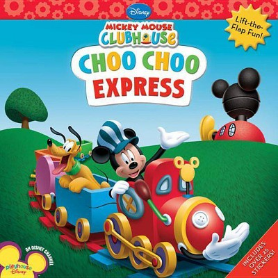 Mickey Mouse Clubhouse Choo Choo Express - (Paperback)