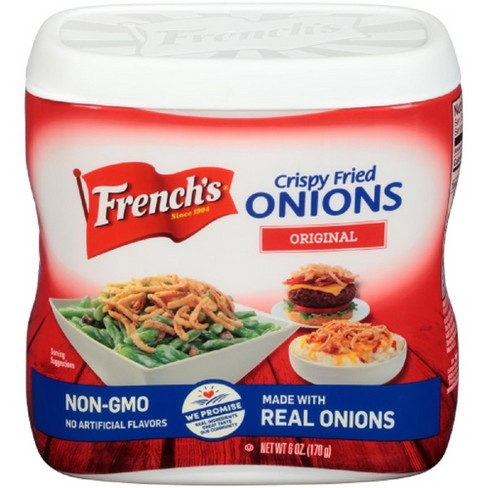 French's Crispy Fried Onions Original Flavor - 6oz - image 1 of 3