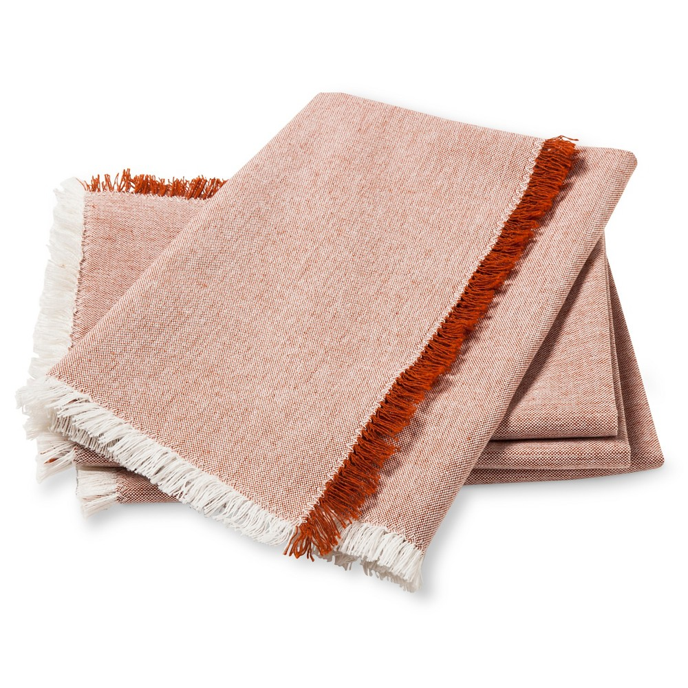Orange Solid Napkin (Set of 4) - Threshold