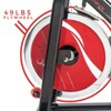 Sunny Health and Fitness Chain Drive Indoor Cycling Bike - Dark Gray - image 3 of 4
