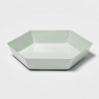Hexagon Metal Tray Mint - Room Essentials™