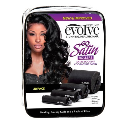 Evolve Satin Rollers - 30ct