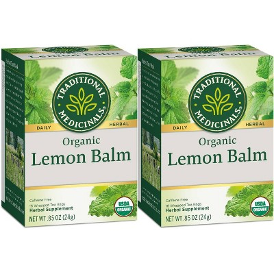 Traditional Medicinals Lemon Balm Organic Tea - 32ct