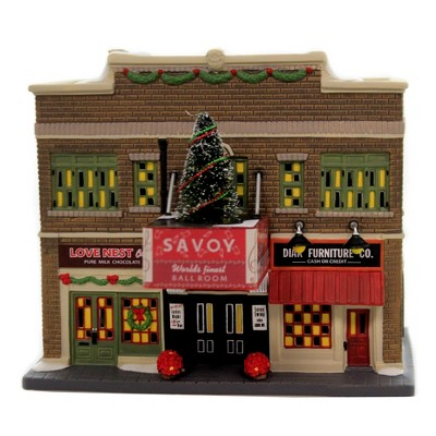 """Department 56 House 7.0"""" The Savoy Ballroom Christmas In City  -  Decorative Figurines"""