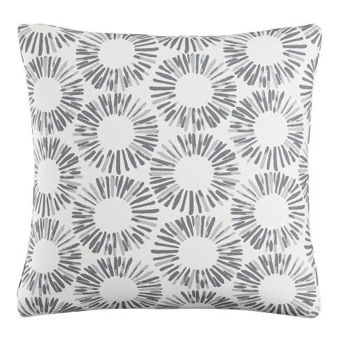 Throw Pillow Skyline Furniture Lt Gray White - image 1 of 4