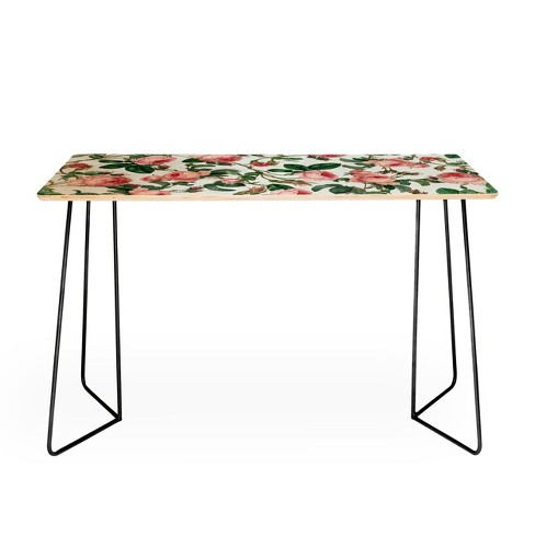 83 Oranges Honey Desk by with Aston legs Deny Designs - image 1 of 2