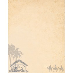 80pk Holy Night Ivory - Great Papers!