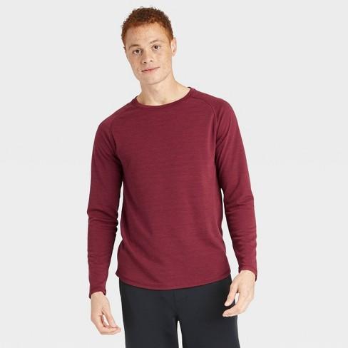 Men's Merino Wool Long Sleeve T-Shirt - All in Motion™ - image 1 of 4
