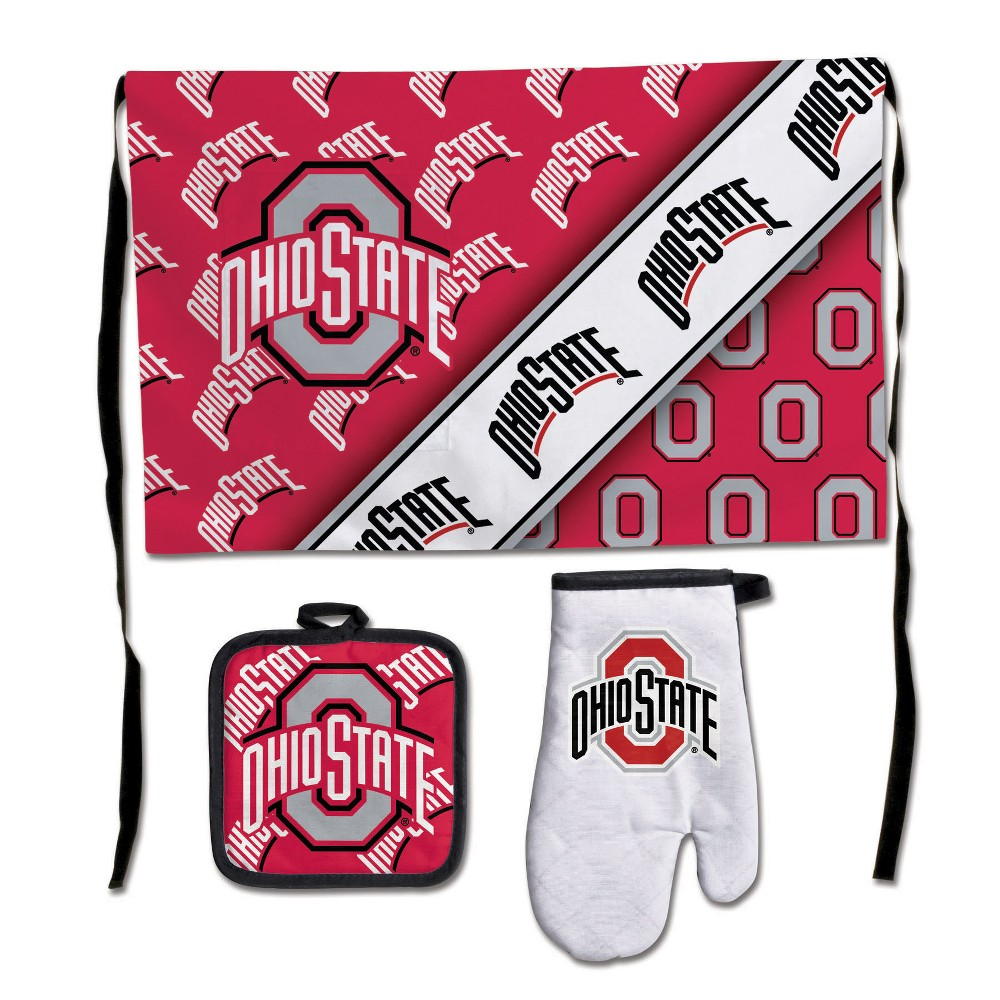 Ohio State Buckeyes Wincraft 3pc Barbeque Set