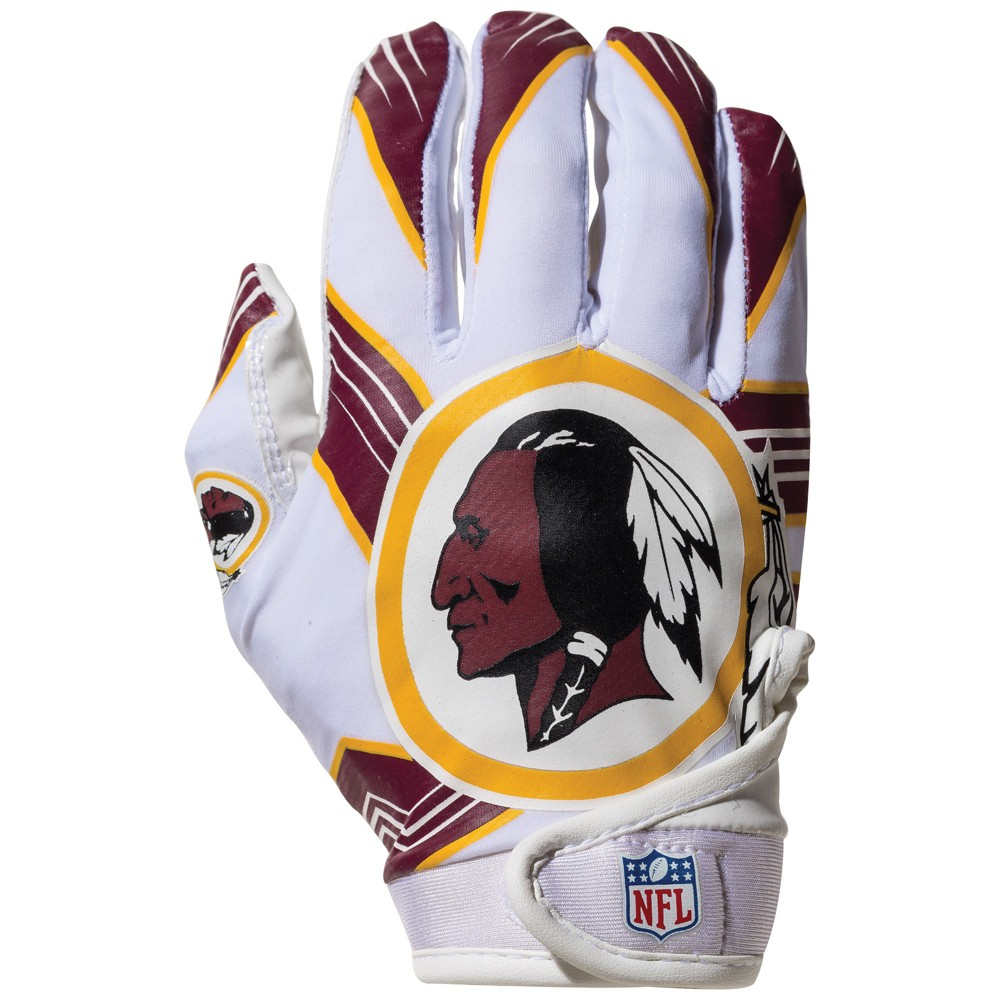 Washington Redskins Kids' Receiver Gloves - M