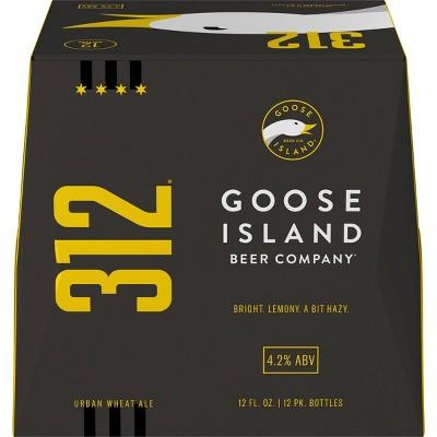 Goose Island 312 Urban Wheat Ale Beer - 12pk/12 fl oz Bottles