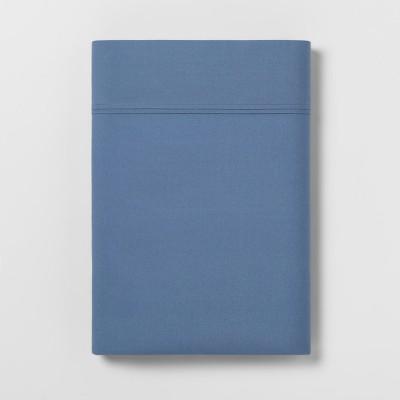 Ultra Soft Flat Sheet (King)Blue 300 Thread Count - Threshold™