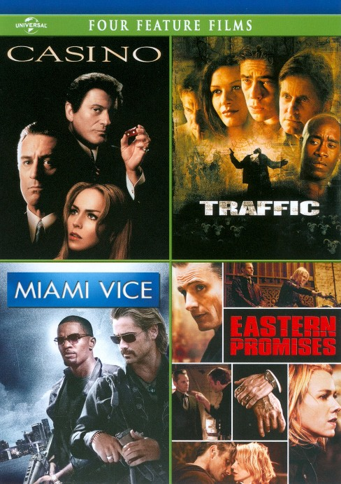 Casino/Traffic/Miami Vice/Eastern Promises (4 Discs) (dvd_video) - image 1 of 1