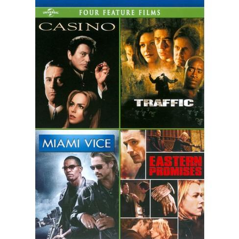 Casino/Traffic/Miami Vice/Eastern Promises (4 Discs) (dvd_video) - image 1 of 1
