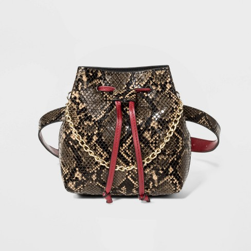 Women's Animal Print Fanny Pack - Who What Wear™ - image 1 of 4