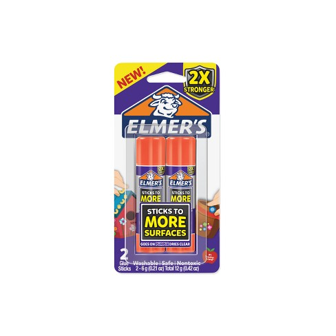 Elmer's 2ct 6g Glue Stick Disappearing Purple - image 1 of 4