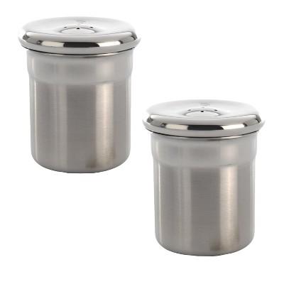 BergHOFF Essentials 2Pc 18/10 Stainless Steel Salt & Pepper Set