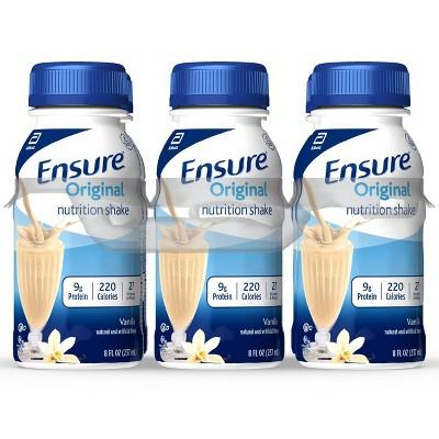 Ensure Original Nutrition Shake - Vanilla - 6ct/48 fl oz