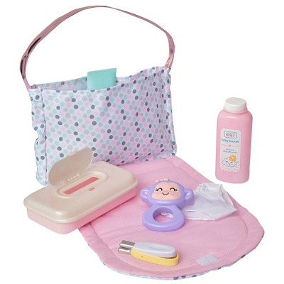 Perfectly Cute Just Like Mommy 7pc Diaper Bag