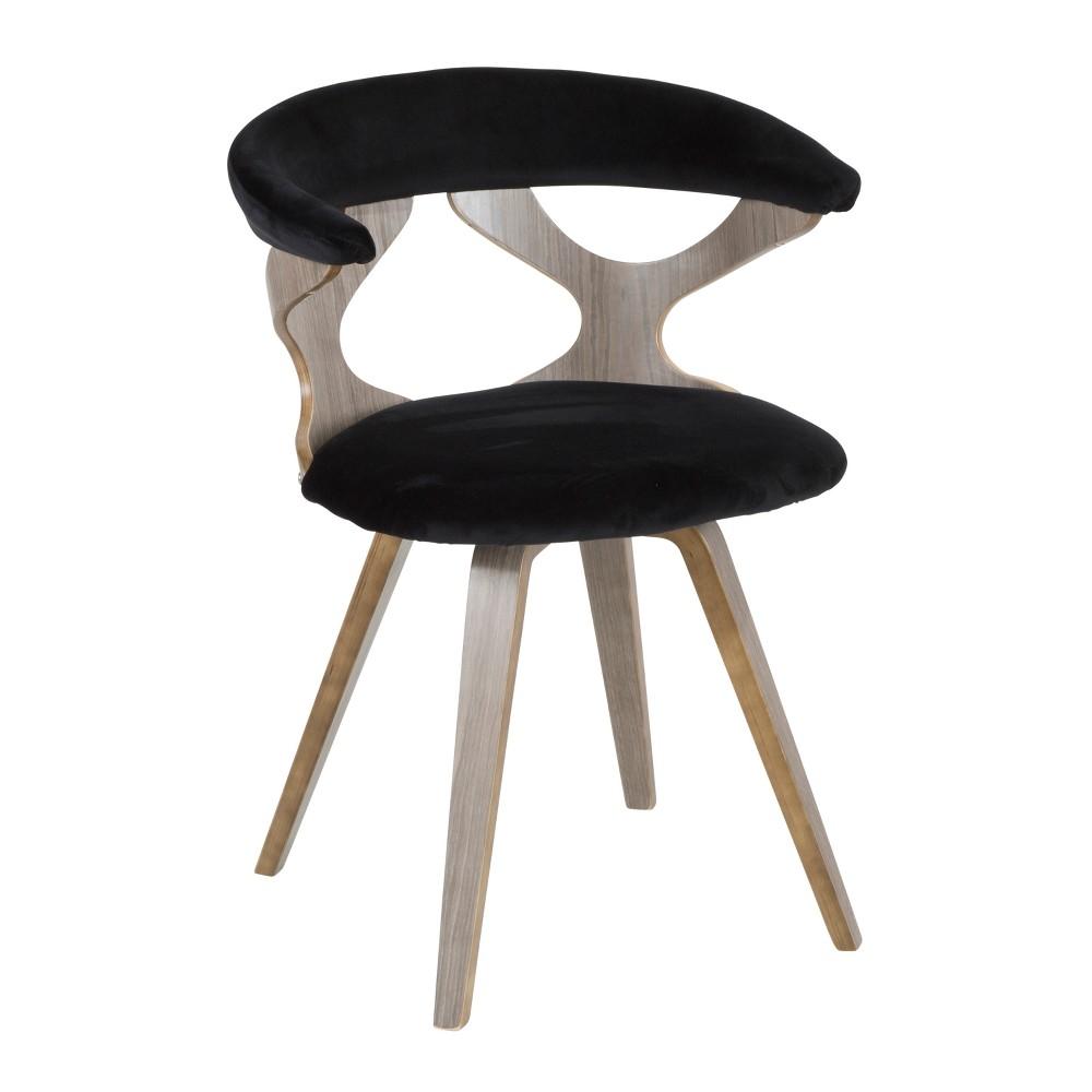 Dining Chairs LumiSource Light Gray Black