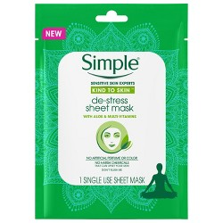 Unscented Simple Kind to Skin Calming Sheet Mask - 1ct