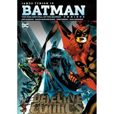 Batman: The Rise and Fall of the Batmen Omnibus - by  James Tynion IV (Hardcover)