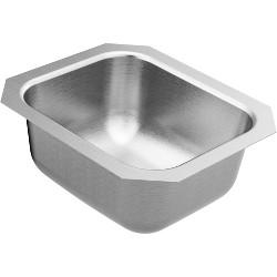 """Moen GS18450 1800 Series 12-1/2"""" Undermount Single Basin Stainless Steel Kitchen Sink"""