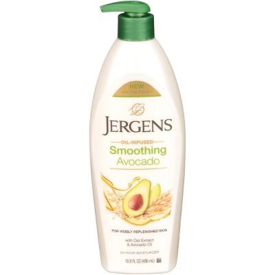 Jergens Visibly Healthy Avocado Lotion - 16.8 fl oz