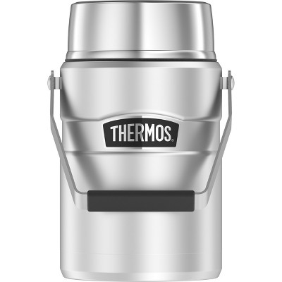 Thermos 47oz Stainless King Vacuum Insulated Food Jar - Stainless Steel