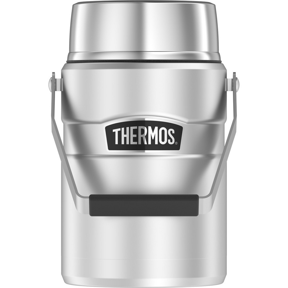 Image of Thermos 47oz Stainless King Vacuum Insulated Food Jar - Stainless Steel