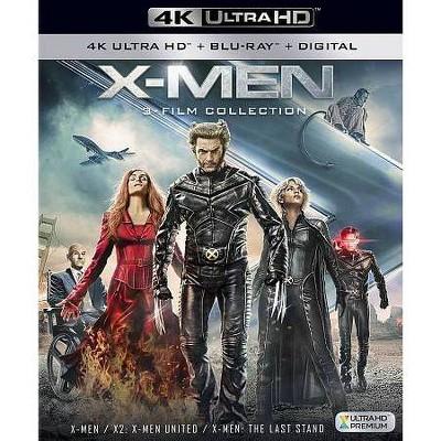 X-Men Trilogy (4K/UHD)(2018)