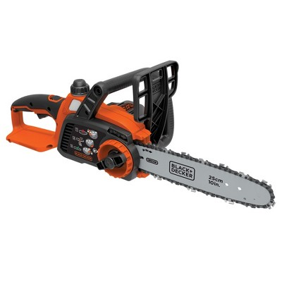 Black & Decker LCS1020B 20V MAX Brushed Lithium-Ion 10 in. Cordless Chainsaw (Tool Only)