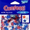 Patriotic Stars Confetti - image 2 of 3