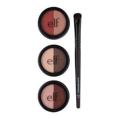 e.l.f. Summer Eyeshadow & Brush Set 4pc
