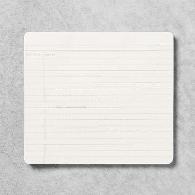 Note Lined Paper Pad - White - Hearth & Hand™ with Magnolia