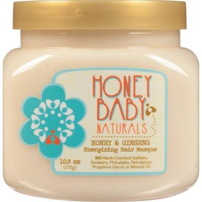 Honey Baby Naturals Honey & Ginseng Energizing Hair Masque - 10.5oz