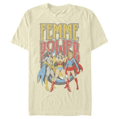 Men's Justice League Femme Power Heroines T-Shirt