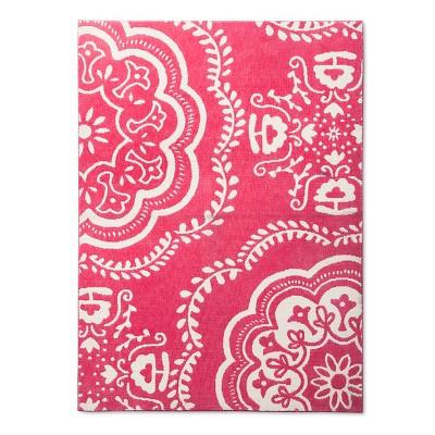 Medallion Area Rug (4'x6')Pink - Pillowfort™